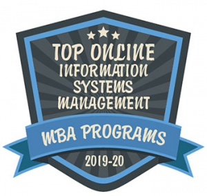 Top Online Information Systems Management Badge